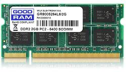 GOODRAM 2GB DDR2 800MHz GR800S264L6/2G