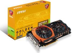 MSI GeForce GTX 980 Ti 6G Golden Edition 6GB GDDR5 384bit PCIe (GTX 980Ti GAMING 6G GOLDEN EDITION)