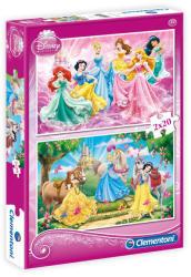 Clementoni Disney Hercegnők 2x20 db-os (07014)