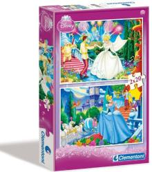 Clementoni Disney Hamupipőke 2x20 db-os (07001)