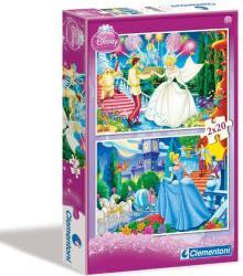 Clementoni Disney Hamupipőke 2x20 db-os
