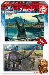 Educa Jurassic World 2x100 db-os (16340)