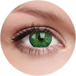 MAXVUE VISION Elegance - Green - dioptria nélküli, negyedéves (2db)