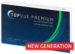 TopVue Premium for Astigmatism (3 db) - heti