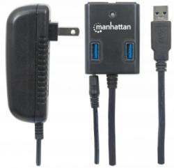Manhattan SuperSpeed USB3.0 Hub 162302