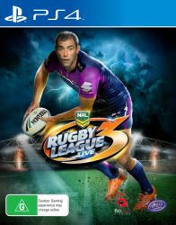 Tru Blu Entertainment Rugby League Live 3 (PS4)