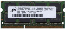 Micron 2GB DDR3 1066MHz MT16JSF25664HY-1G1D1