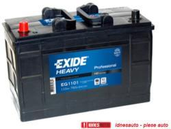 Exide Professional 110Ah 750A borna inversa EG1101