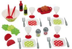 Ecoiffier Étkészlet salátával (2605)