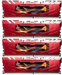 G.SKILL Ripjaws 16GB (4x4GB) DDR4 3333Mhz F4-3333C16Q-16GRRD