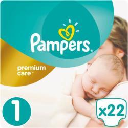Pampers Premium Care 1 Newborn (2-5kg) 22db