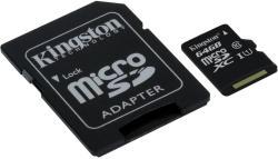 Kingston microSDXC 64GB Class 10 UHS-I SDC10G2/64GB