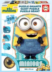 Educa Óriás sziluett puzzle - Minyonok 250 db-os (16554)