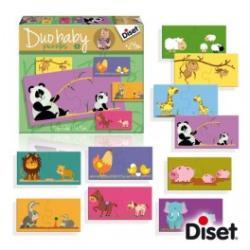 Diset Duo Baby Puzzles - Állatkölykök (DS69966)