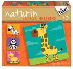 Diset Naturin Puzzle - Dzsungel (DS69957)