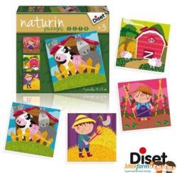 Diset Naturin Puzzle - Farm: Életképek (DS69958)