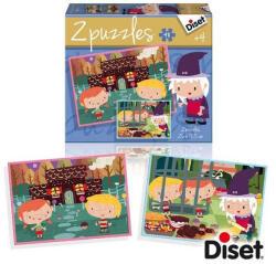 Diset 2puzzles Mese Puzzle - Jancsi és Juliska (DS69963)