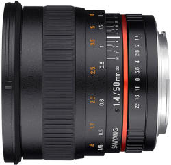 Samyang 50mm f/1.4 AS UMC (Sony E)