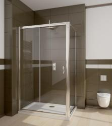 Radaway Premium Plus DWJ+S 150x100 cm szögletes