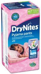 Huggies Dry Nites Medium Girls 10db