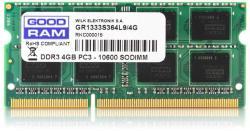 GOODRAM 4GB DDR3 1333MHz GR1333S364L9S/4G