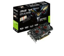 ASUS GeForce GTX 750 Ti DirectCU II OC 4GB GDDR5 128bit PCI-E (STRIX-GTX750TI-DC2OC-4GD5)