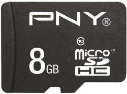 PNY Standard microSDHC 8GB Class 10 SDU8GBSTA-EF