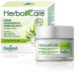 Farmona Natural Cosmetics Laboratory Herbal Care nyugtató és hidratáló nappali és éjszakai krém 50ml