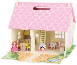 Bigjigs Toys Virágos Házikó