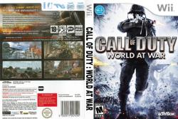 Activision Call of Duty World at War (Wii)