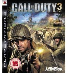 Activision Call of Duty 3 (PS3)