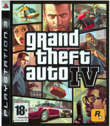 Rockstar Games Grand Theft Auto IV (PS3)