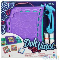 Hasbro Play-Doh DohVinci hordozható kreatív dekorszett A7198
