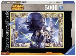 Ravensburger Star Wars Episode I-VI 5000 db-os (17431)