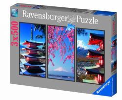 Ravensburger Japán 3x500 db-os (16315)