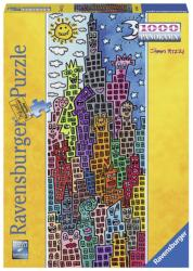 Ravensburger Panoráma puzzle - James Rizzi: Times Square 1000 db-os (15065)
