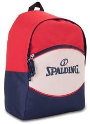 SPALDING Hátizsák, SPALDING Sport, piros-törtfehér-kék