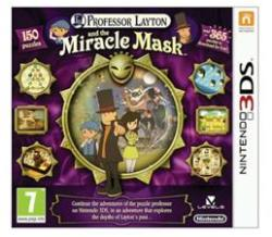 Nintendo Professor Layton and the Miracle Mask (3DS)
