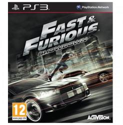 Activision Fast & Furious Showdown (PS3)