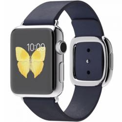 Apple Watch 38mm Stainless Steel Case Modern Buckle