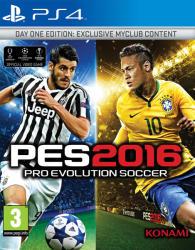 Konami PES 2016 Pro Evolution Soccer [Day One Edition] (PS4)