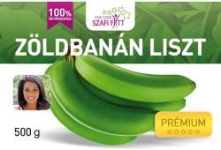Szafi Fitt Prémium zöldbanán liszt 500g