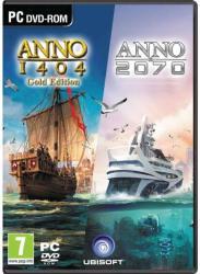 Ubisoft Anno 1404 Gold Edition + Anno 2070 Complete Edition (PC)