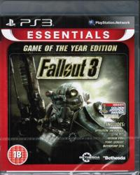 Bethesda Fallout 3 [Game of the Year Edition-Essentials] (PS3)