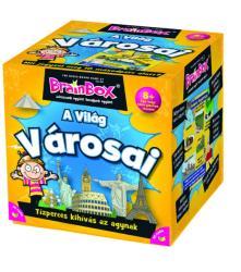 The Green Board Game Brainbox - A világ városai