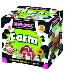 The Green Board Game Brainbox - Farm