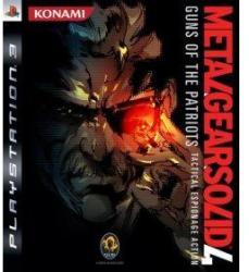 Konami Metal Gear Solid 4 Guns of the Patriots (PS3)
