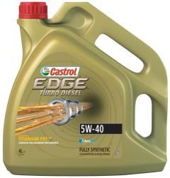 Castrol EDGE Turbo Diesel TD Titanium FST 5W40 4L