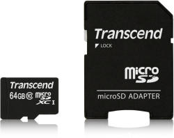 Transcend MicroSDXC 64GB Class 10 300x TS64GUSDXC10