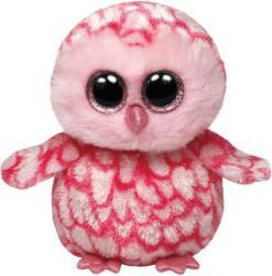 TY Inc Beanie Boos - Pinky, a rózsaszín gyöngybagoly 15cm (TY36094)